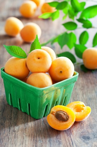 Fresh apricots_sm